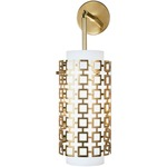 Parker Pendant Wall Light - Antique Brass / Frosted White