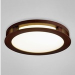 Zelkova Medium Round Ceiling Flush Mount