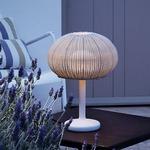 Garota Outdoor Mini Table Lamp - Natural White / Ivory White