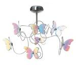 Papillon Ceiling Light - Stainless Steel / Iridescent
