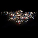 Tiara Ceiling Light - Stainless Steel / Multicolor