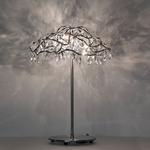 Tiara Table Lamp - Stainless Steel / Transparent