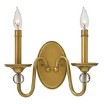 Eleanor Wall Light - Heritage Brass /