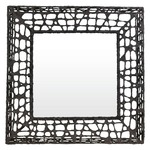 C U C Me Square Mirror - Brown
