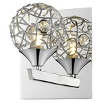 Nabul Wall Light - Chrome