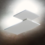 Puzzle Square and Rectangle Wall / Ceiling Light - Matte White