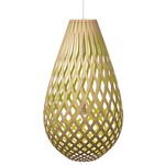 Koura Pendant - Bamboo / Natural / Lime