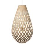Koura Pendant - Bamboo / Natural / White