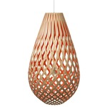 Koura Pendant - Bamboo / Natural / Red