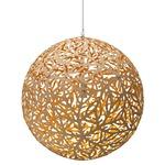 Sola Pendant - Bamboo / Natural / Yellow