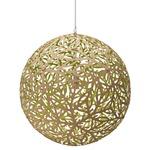 Sola Pendant - Bamboo / Natural / Lime