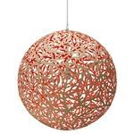 Sola Pendant - Bamboo / Natural / Red