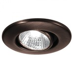 HR1137 Gimbal Ring Miniature Recessed Task Light - Copper Bronze / Clear