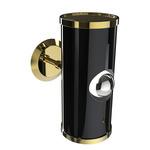 Chuck Wall Light - Gold / Glossy Black