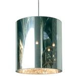 Light Shade Pendant - Chrome / Transparent Mirror