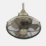 Extraordinaire Ceiling Fan - Satin Nickel /