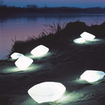 Stones Exterior Landscape Light -  / White
