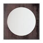 Kubic Square Mirror - Wenge / Mirror