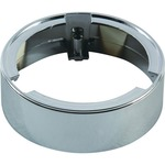 823.94 Surface Mount Puck Light Ring - Chrome /