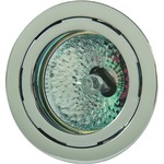 823.48 10W Recessed Puck Light Clear Lens - Chrome / Clear