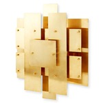 Puzzle Wall Light - Brass
