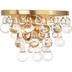 Bling Wall Light - Antique Brass / Crystal