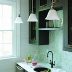 Bolla Downrod Mini Pendant by Hinkley Lighting