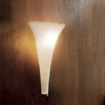Olimpia Wall Light - Brushed Nickel / Satin White