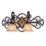 Zaragoza Bathroom Vanity Light  - Golden Bronze / Salon Scavo