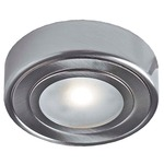 4005 2-in-1 Puck Light - Satin Nickel / Frosted