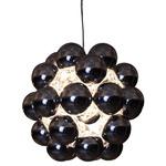 Beads Penta Pendant - Gunmetal /