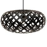 Kina Pendant - Bamboo / Black / Black