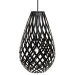 Koura Pendant - Bamboo / Black / Black