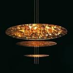 Macchina Della Luce C LED Pendant - Gold Leaf