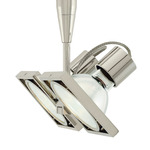 FJ Form Square 2-Head - Polished Nickel /