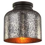 Hounslow Ceiling Light Fixture -  / Brown Mercury / Oil Rubbed Bronze