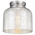 Hounslow Ceiling Light Fixture -  / Silver Mercury / Polished Nickel