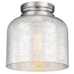 Hounslow Ceiling Light Fixture -  / Silver Mercury / Polished Nickel
