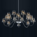 Chic Chandelier - Chrome / Clear