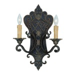 Southerby Wall Light - Florencian Bronze / Cream