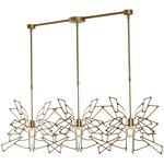 Monarch Linear Multi Light Pendant - Gold