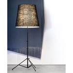 Gilda Floor Lamp - Aluminum / Black