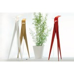 Les Racines Floor Lamp - Aluminum / Red