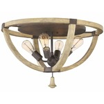Middlefield Ceiling Light Fixture - Iron Rust