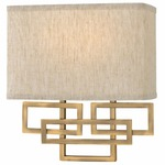 Lanza Wall Light - Brushed Bronze /