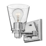 Avon Bathroom Vanity Light - Chrome / Clear Seedy /