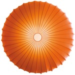 Muse Wall / Ceiling Mount - White / Orange