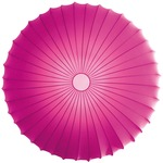 Muse Wall / Ceiling Mount - White / Fuchsia