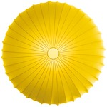 Muse Wall / Ceiling Mount - White / Yellow