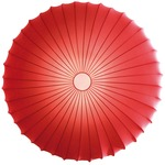 Muse Wall / Ceiling Mount - White / Red